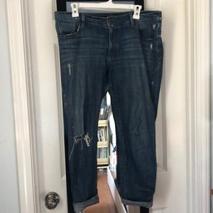 LOFT Ripped Skinny Jeans